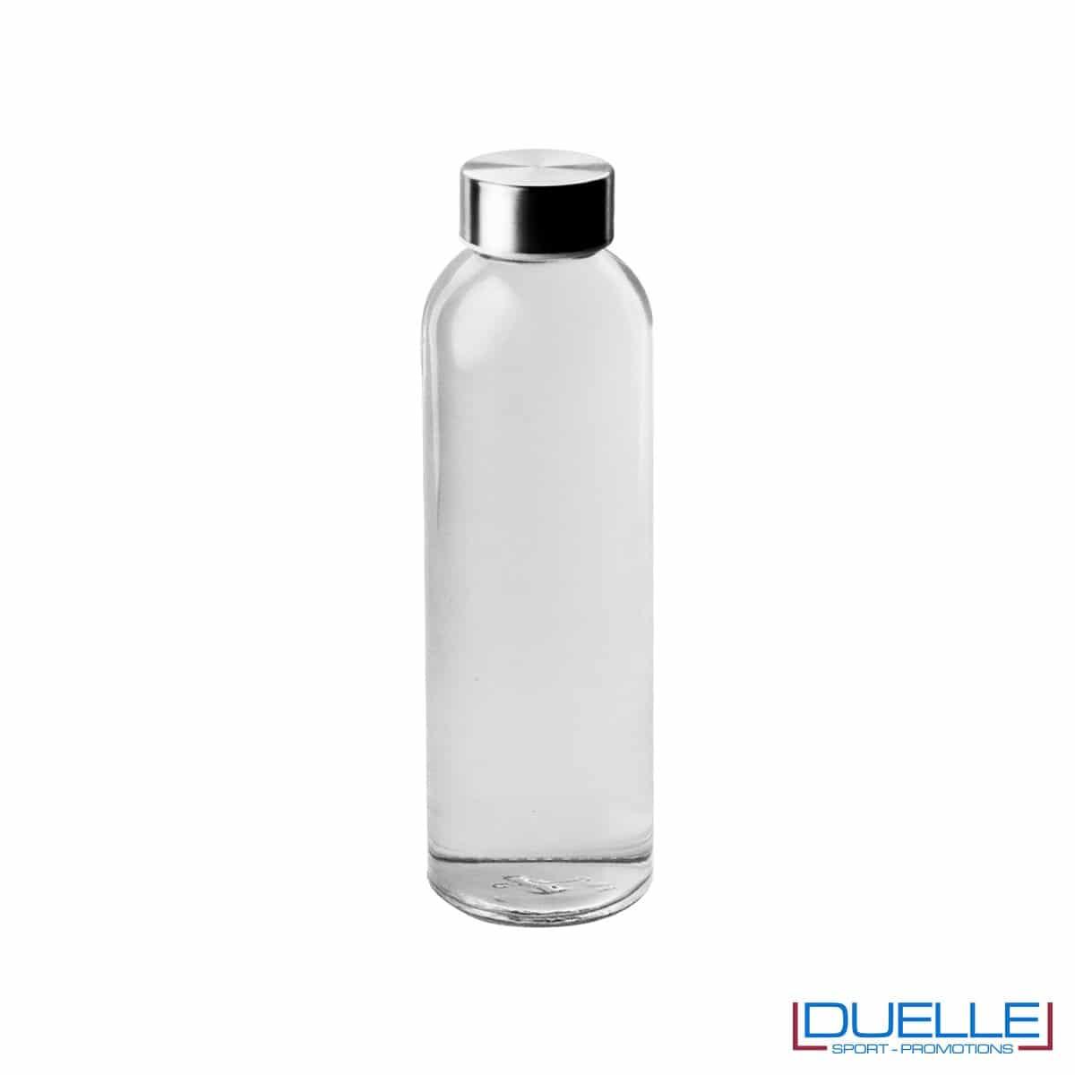 Bottiglia in vetro 500ml personalizzata con incisione