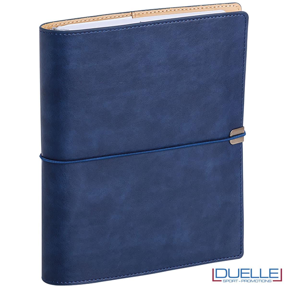 agenda portafoglio 2022 colore blu