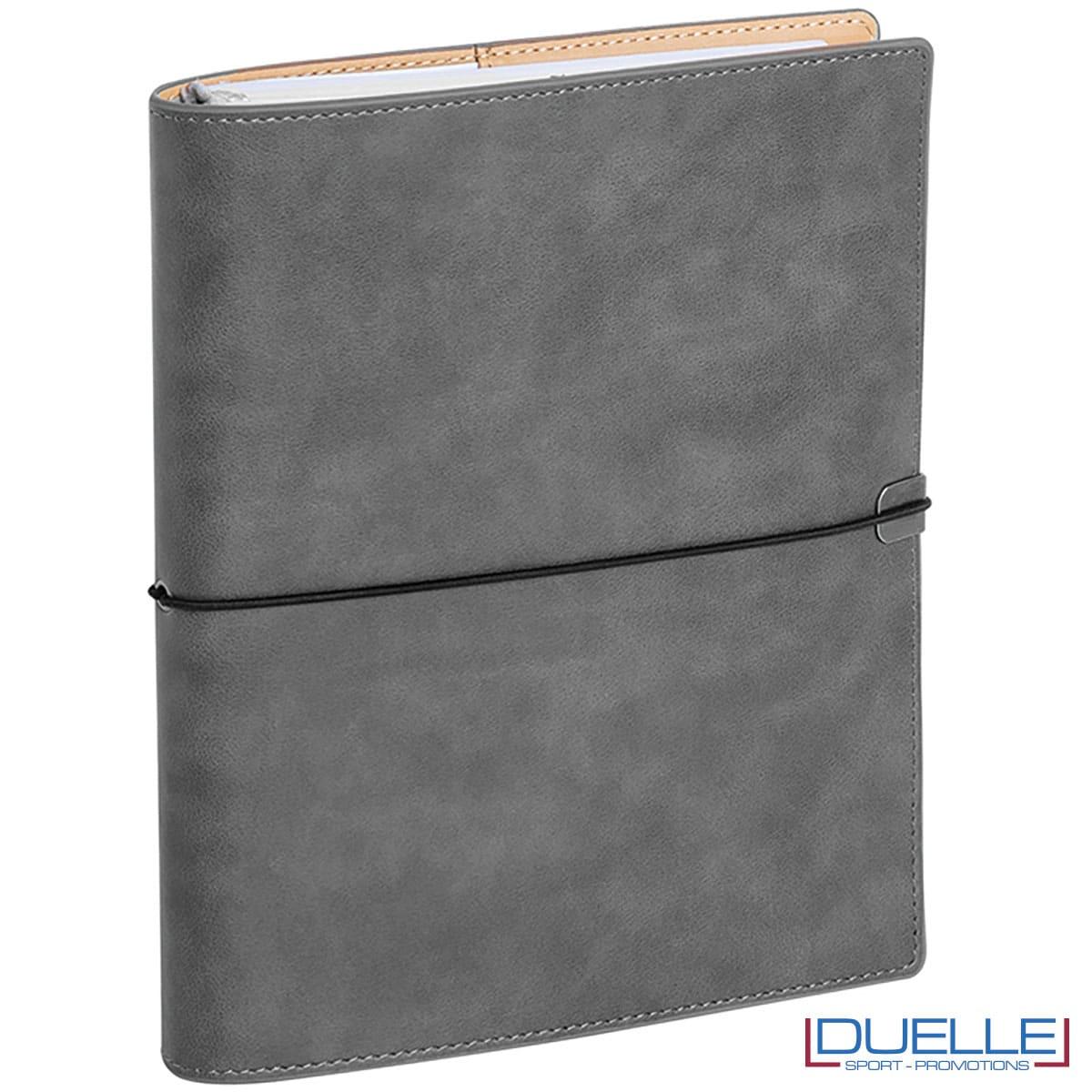 agenda colore grigio copertina morbida