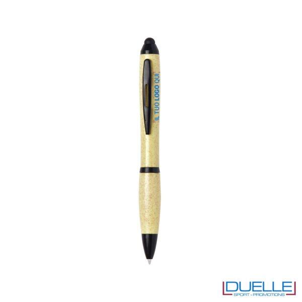 Penna in fibra di bambu economica personalizzabile