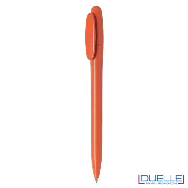 Penne made in Italy fusto lucido colore arancione personalizzata