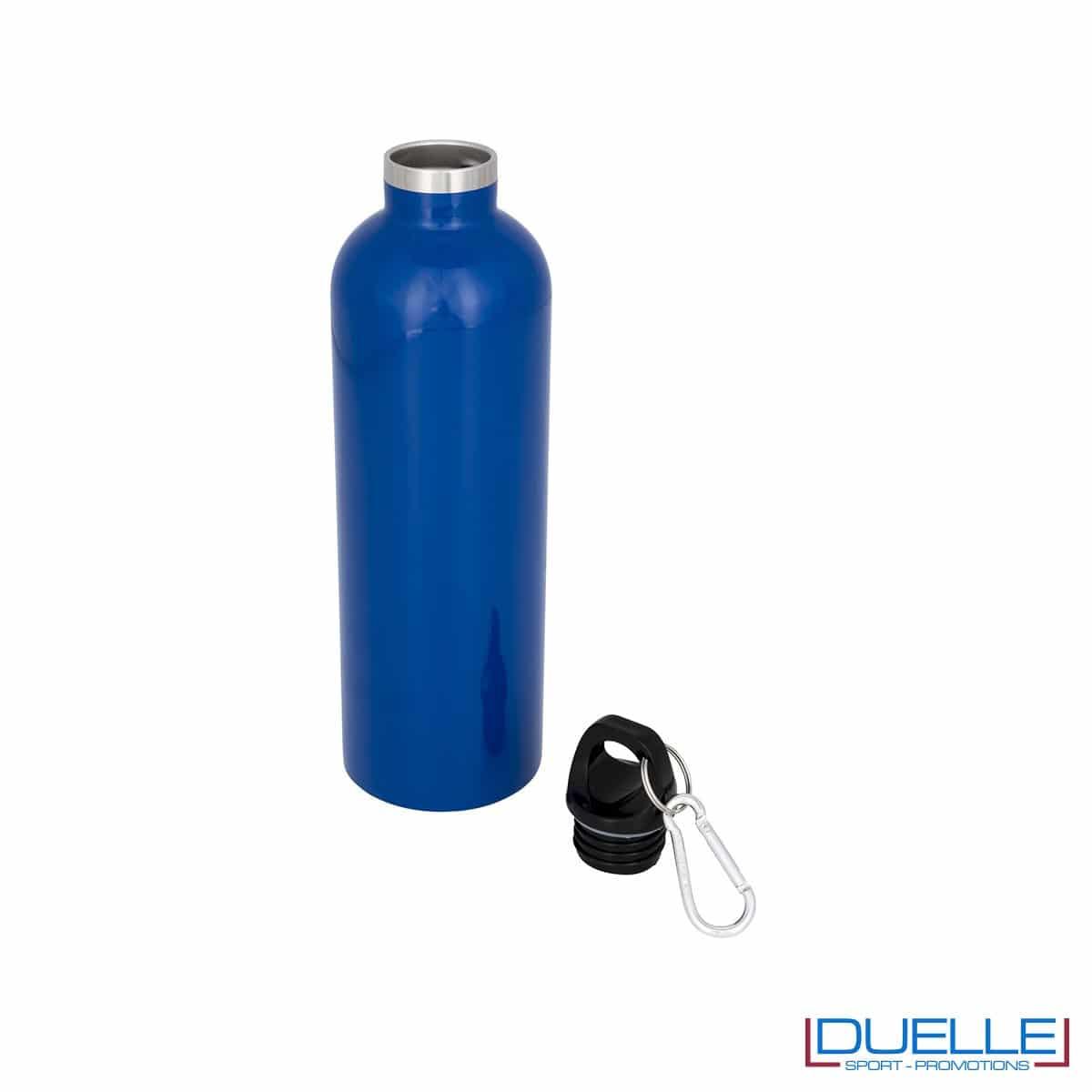 borraccia termica sottovuoto colore blu