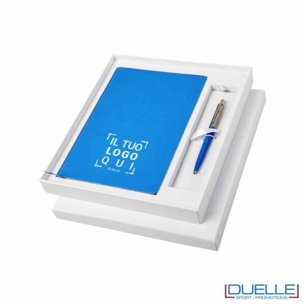 confezione regalo Parker Originals Azzurra