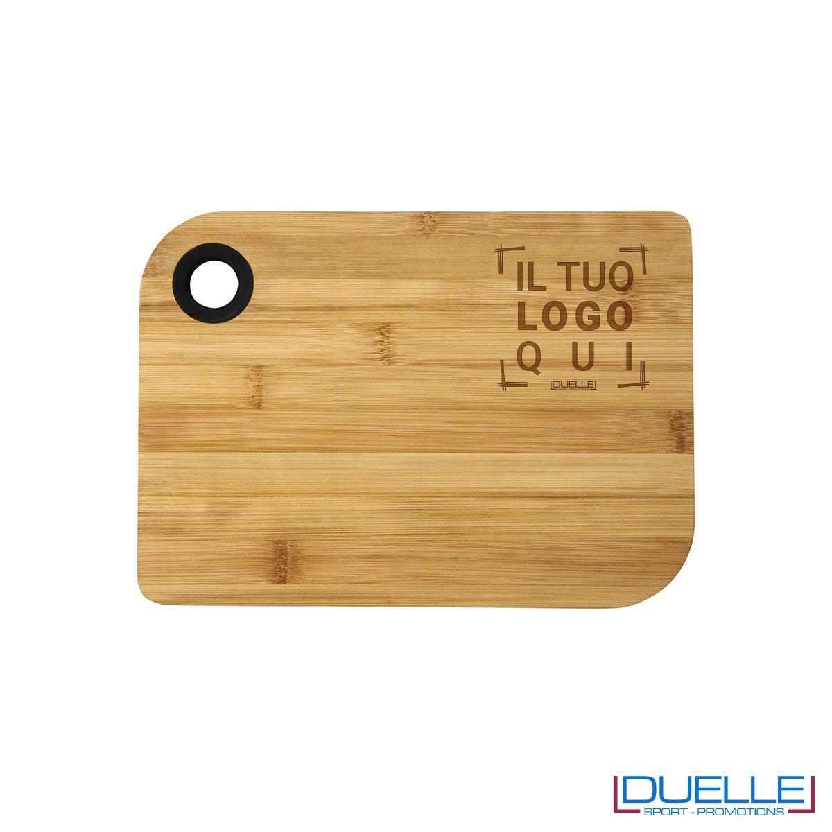 Tagliere in bambù personalizzabile