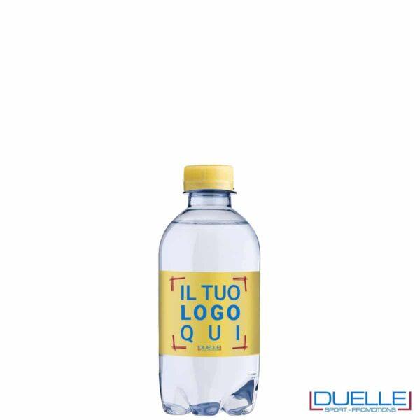 bottiglie d'acqua personalizzata 330ml colore giallo