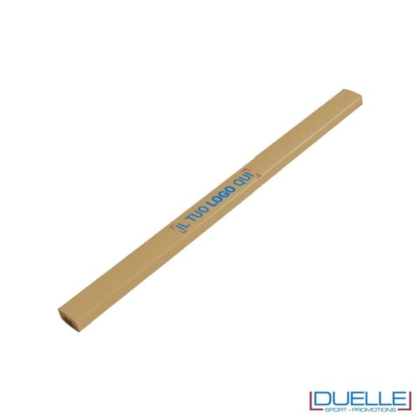 Matita falegname Metrica colore legno personalizzata
