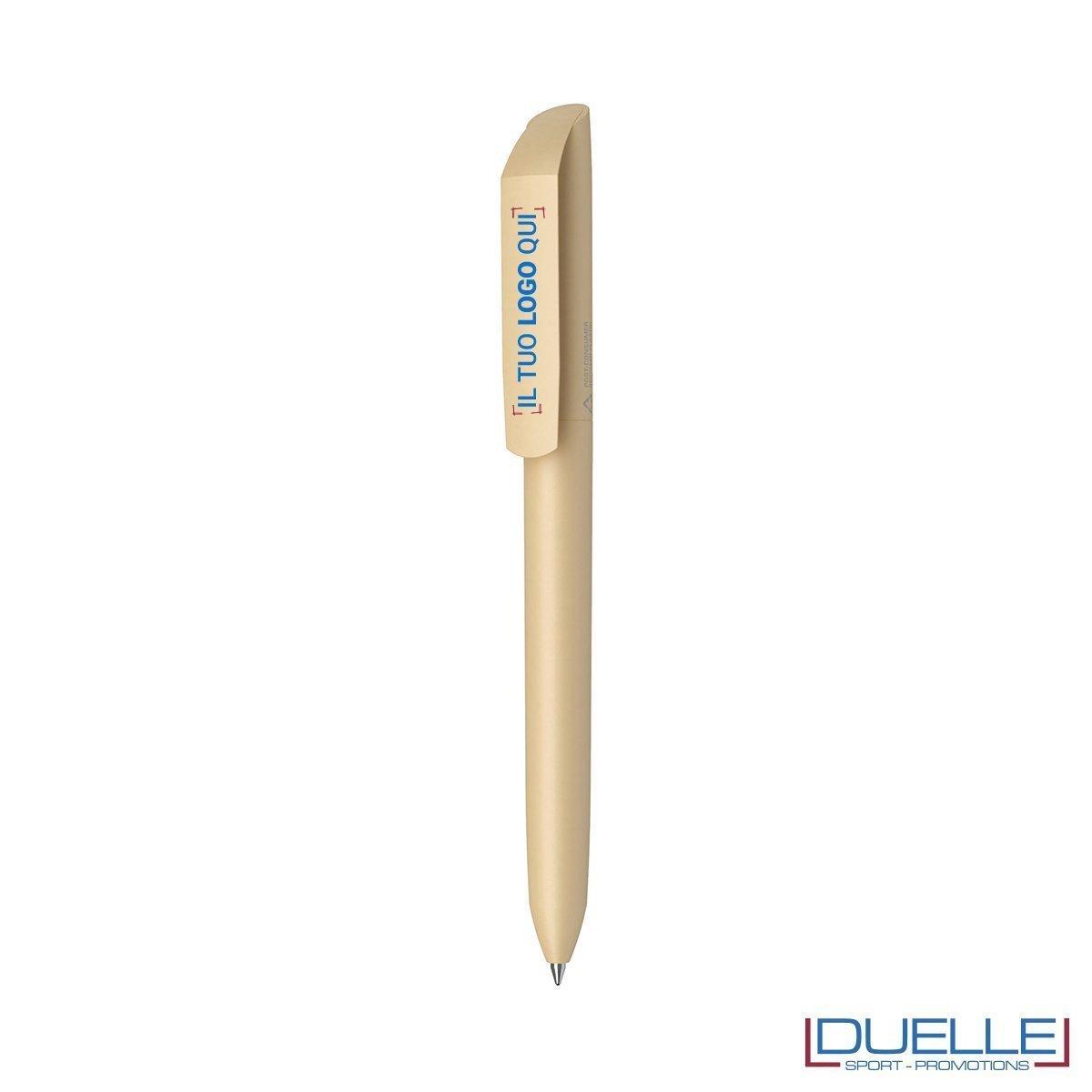 penna flow ecologica personalizzata colore beige