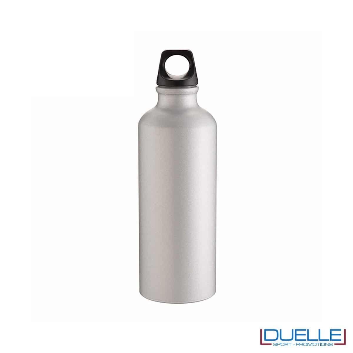 Borraccia sportiva alluminio 500ml colore silver metallizzato opaco