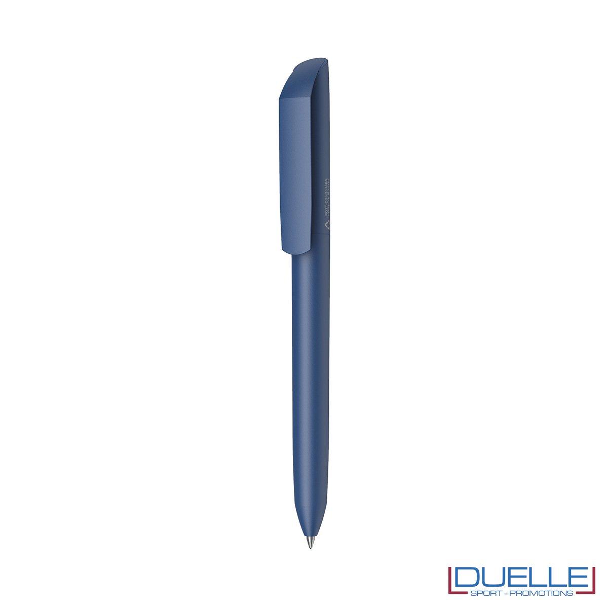 penna flow ecologica personalizzata colore blu