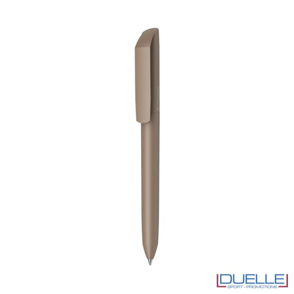 penna flow ecologica personalizzata colore marrone