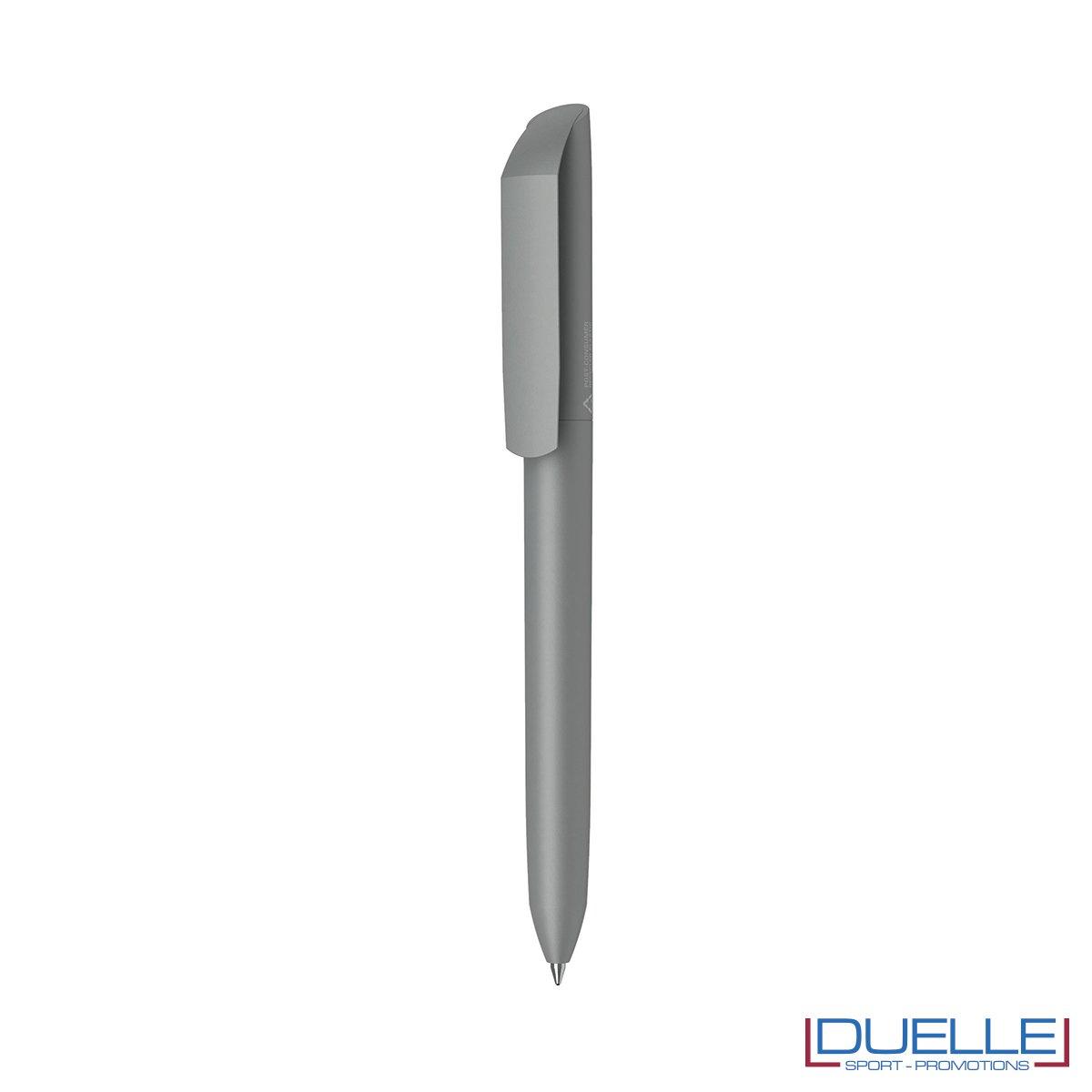 penna flow ecologica personalizzata colore grigio scuro