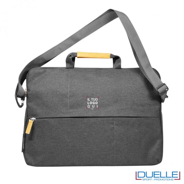 Borsa porta laptop in R-pet ecologica ed eco-friendly