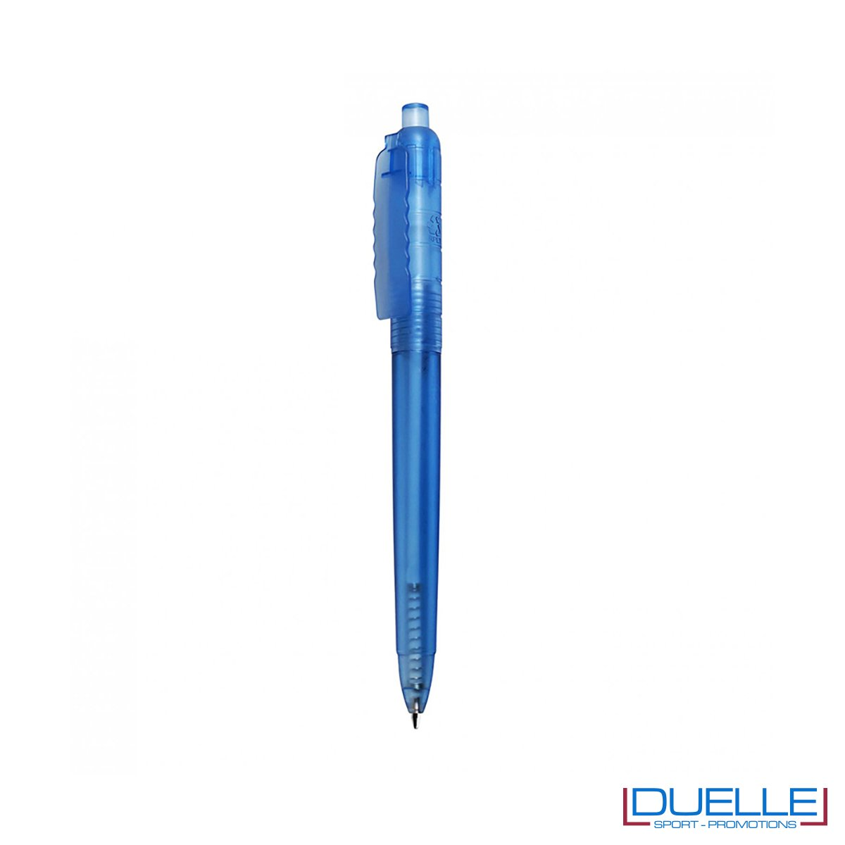 Penna a sfera in R-pet personalizzata colore blu