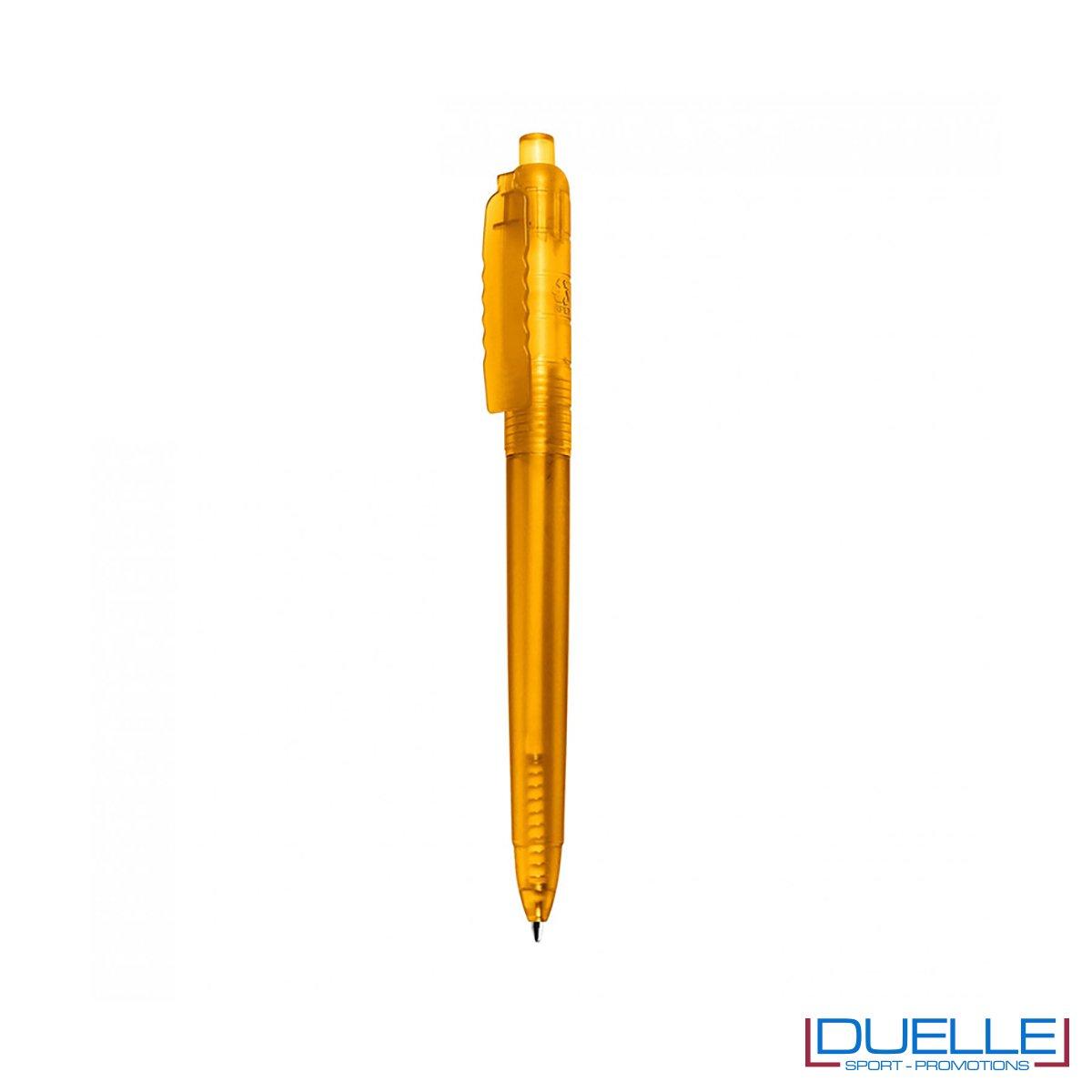 Penna a sfera in R-pet personalizzata colore giallo