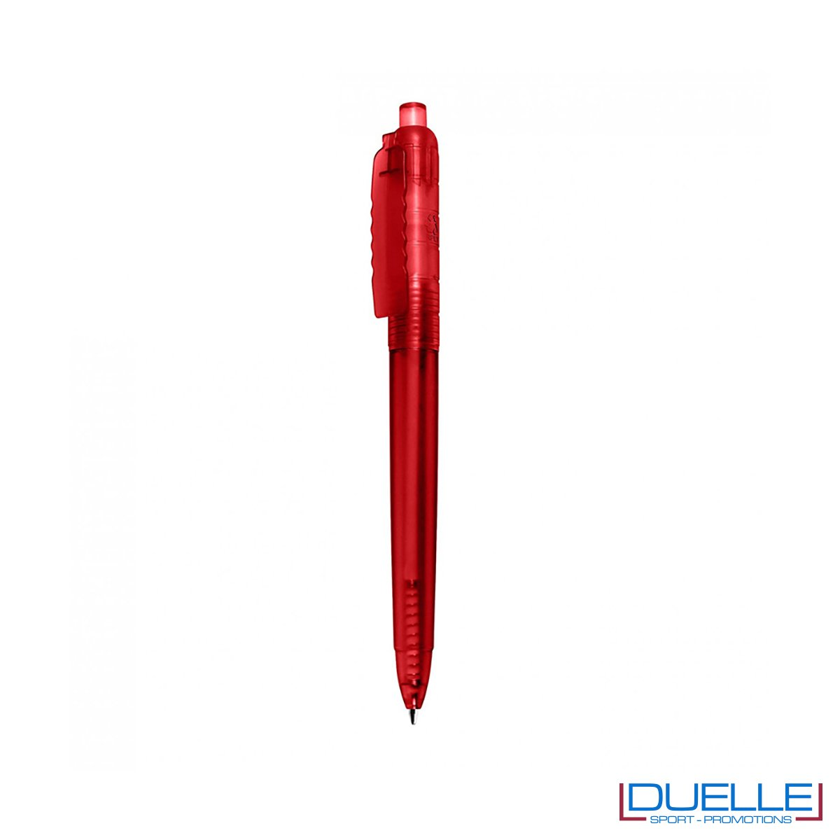 Penna a sfera in R-pet personalizzata colore rosso