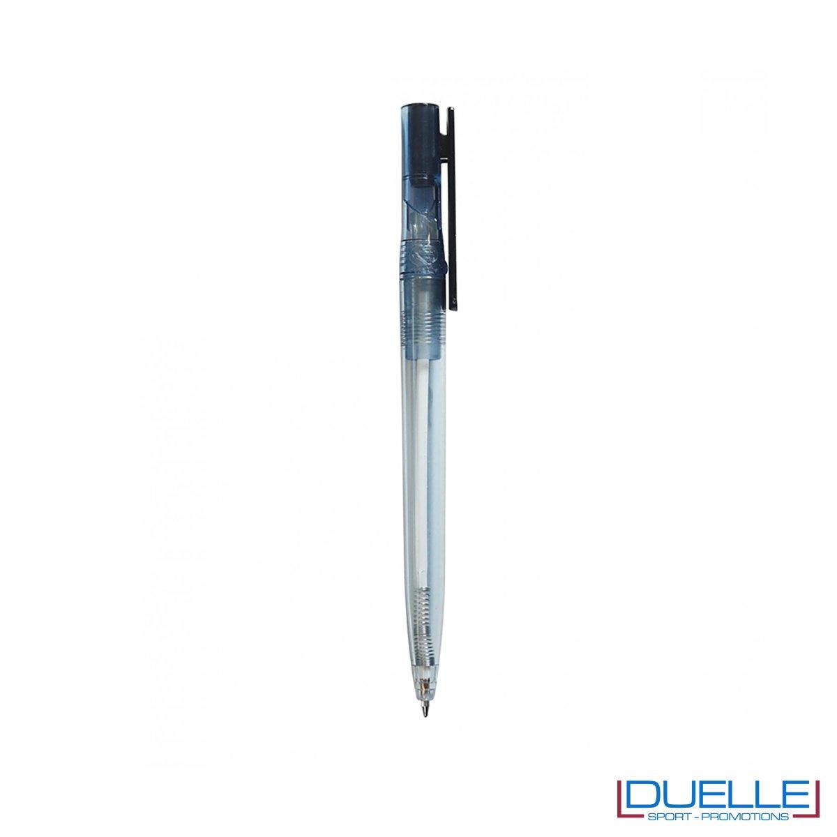 Penna in R-pet 100% riciclata clip colore nero
