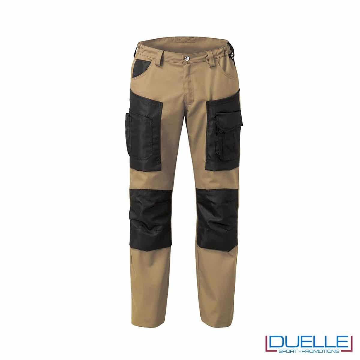Pantalone da lavoro beige personalizzato HAMMER di SIGGI
