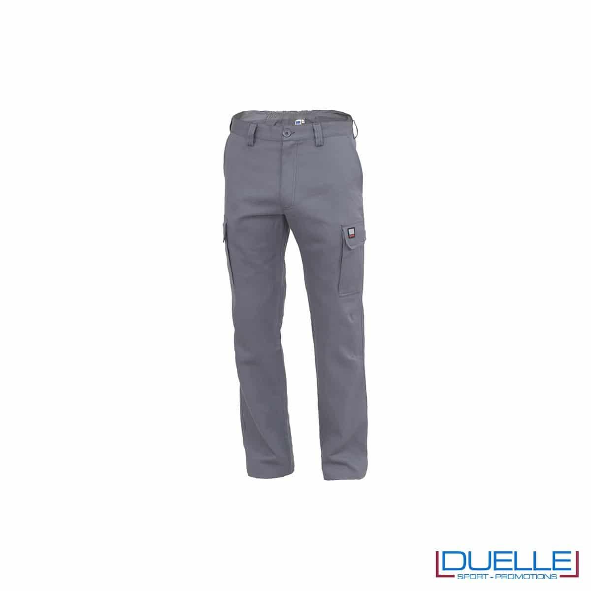 Pantalone da lavoro personalizzato AMSTERDAM colore grigio