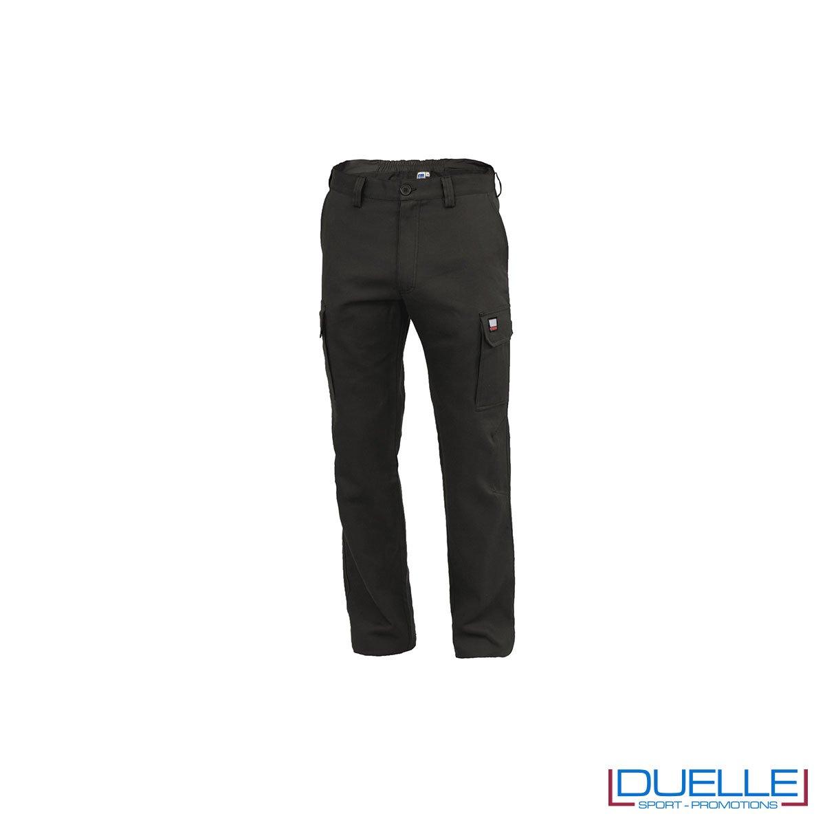 Pantalone da lavoro personalizzato AMSTERDAM colore nero