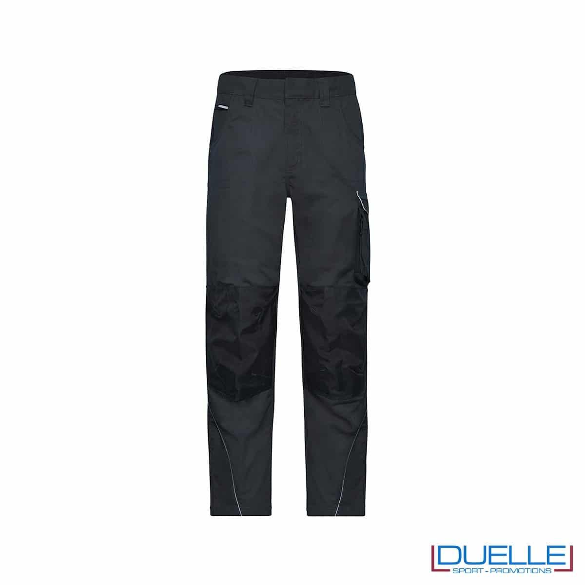 pantalone lungo da lavoro personalizzato in colore grigio