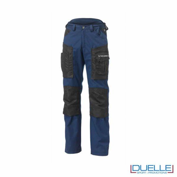 Pantalone hammer siggi personalizzato in colore blu