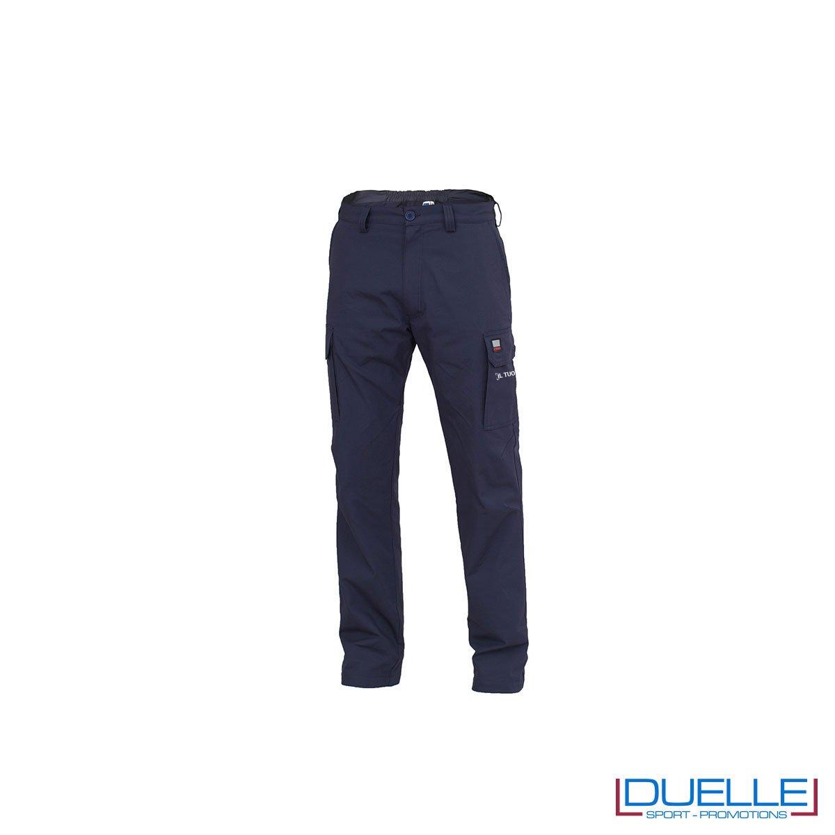 Pantalone da lavoro AMSTERDAM personalizzato in colore BLU
