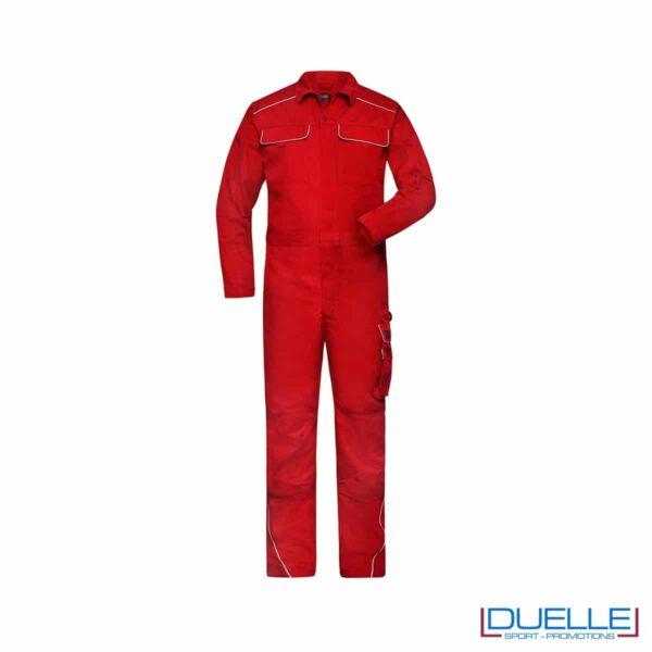 tura da lavoro personalizzata in colore rosso