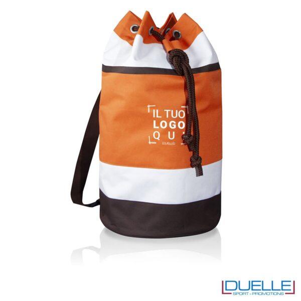 sacca cubana personalizzata in colore arancione