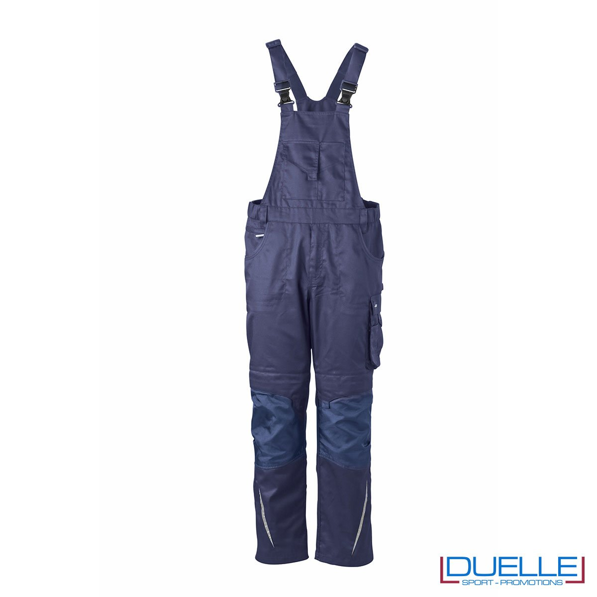 Salopette professionale personalizzata in colore blu navy