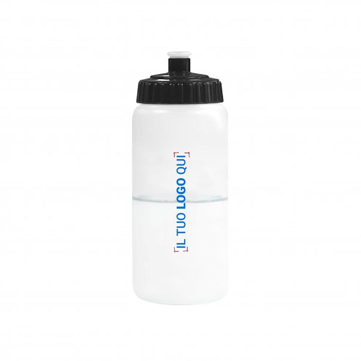 Borraccia 500ml in bioplastica personalizzata