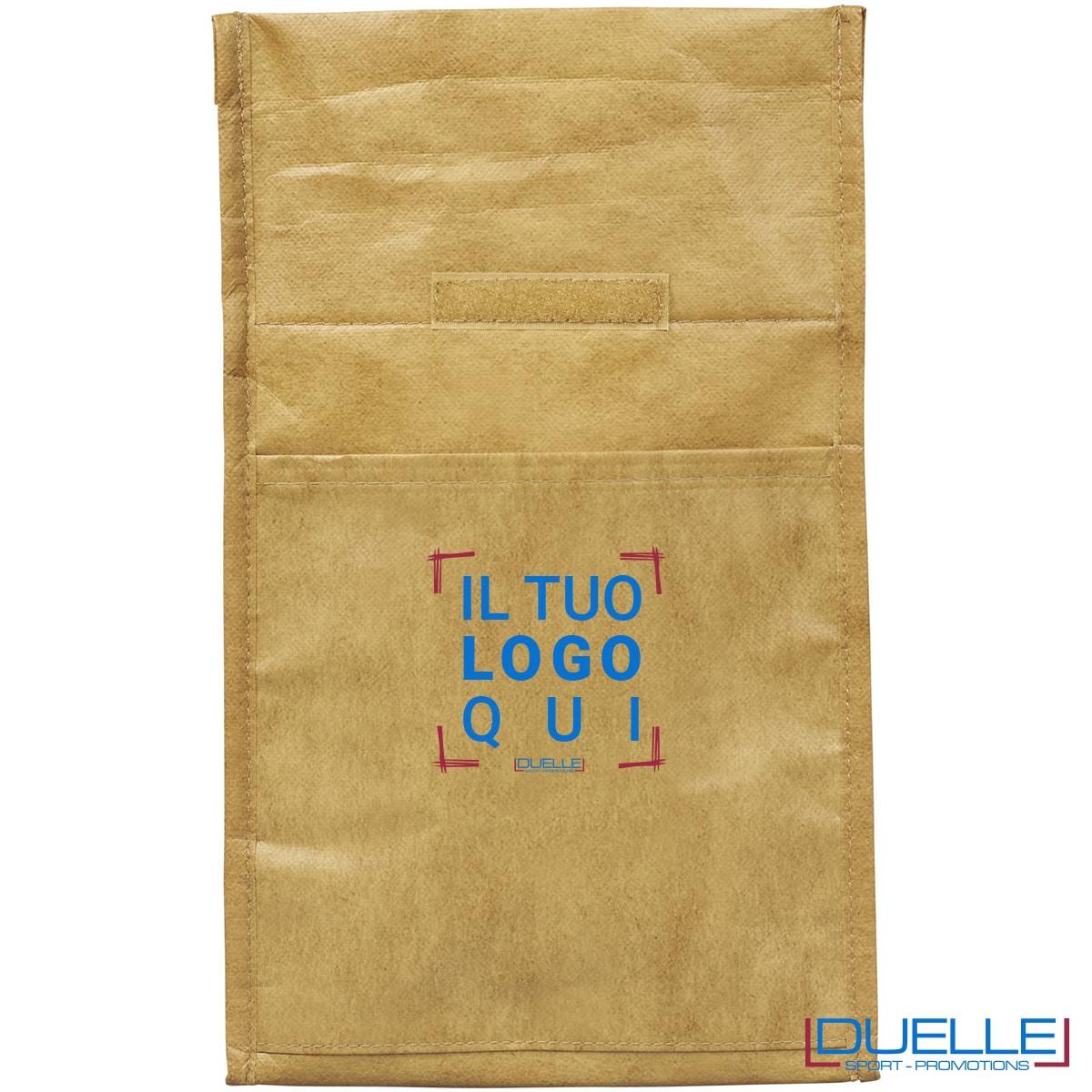 Porta pranzo termico sacco di carta
