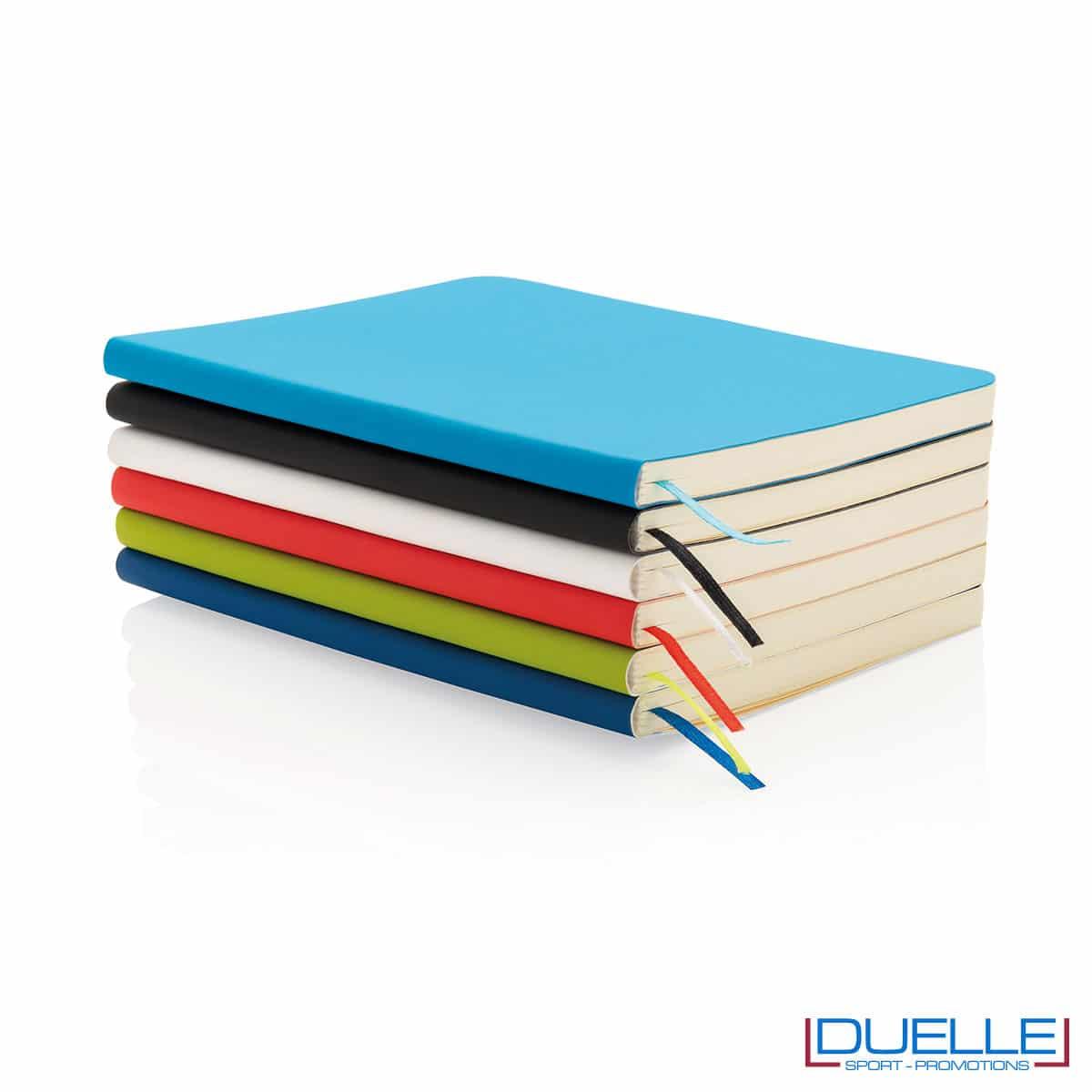 Blocchetti appunti colorati con segnapagina