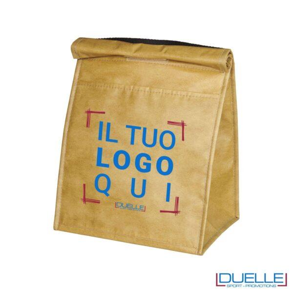 Porta pranzo termico personalizzato termico a sacchetto