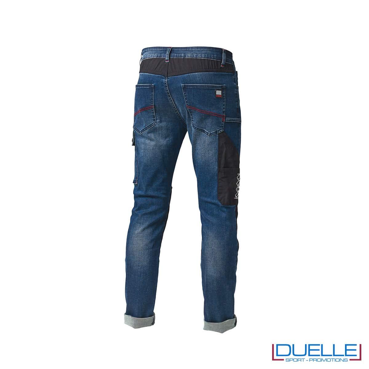 Jeans lavoro SIGGI personalizzato con ricamo