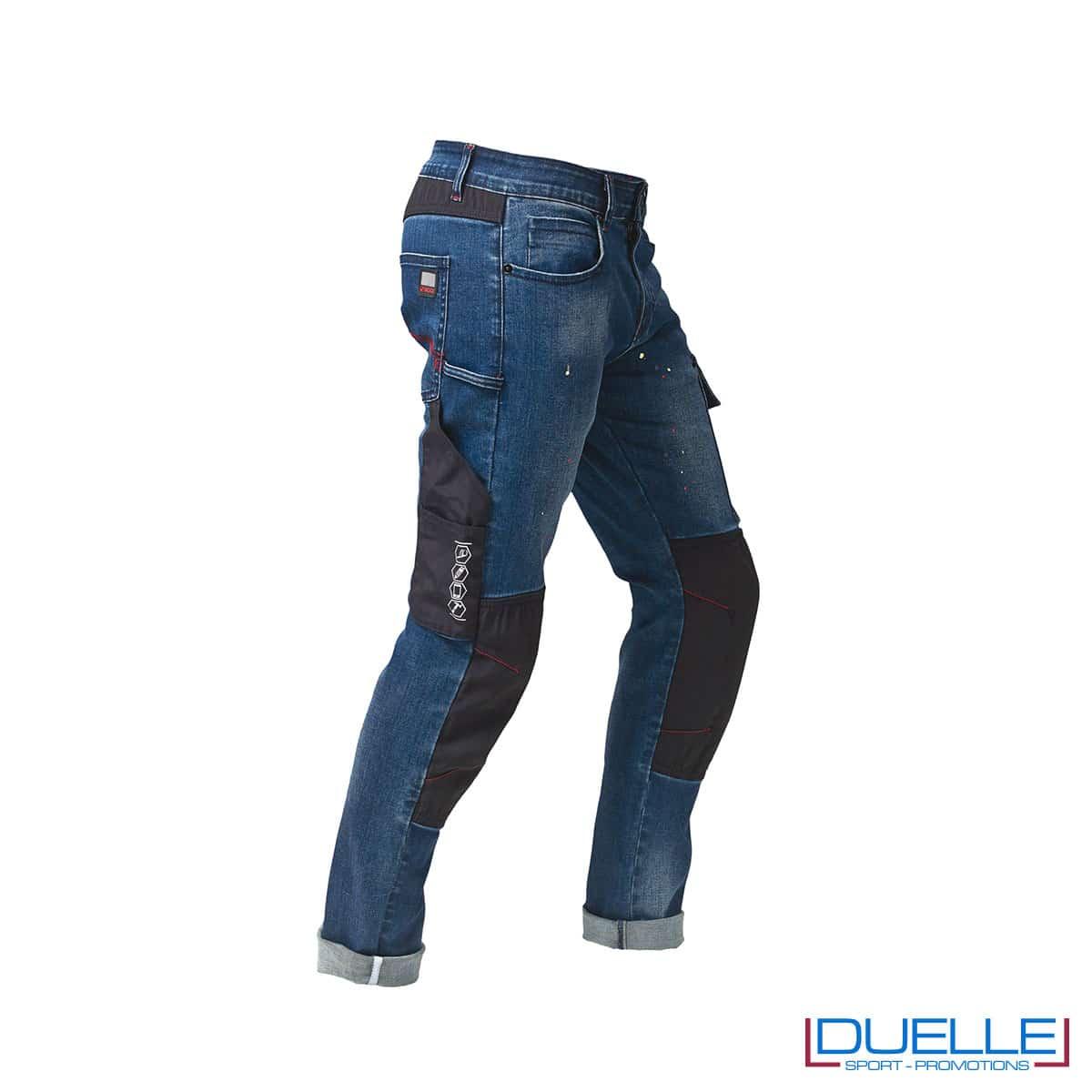Jeans da lavoro con dettagli rinforzati personalizzato
