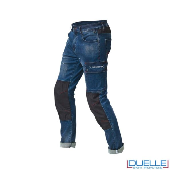 Pantalone in jeans da lavoro SIGGI personalizzato
