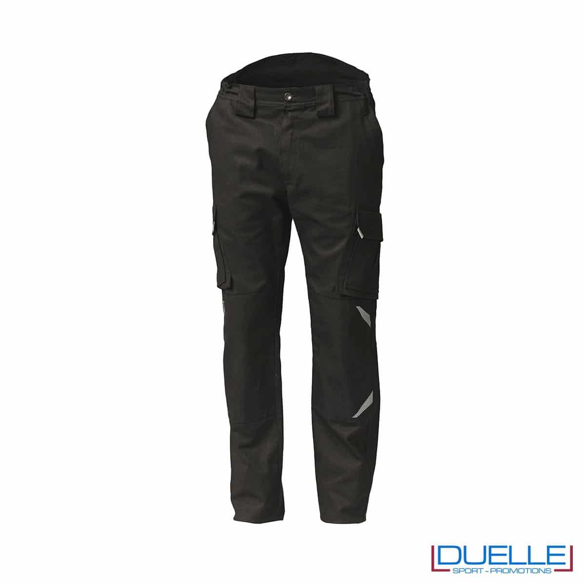 Pantaloni lunghi da lavoro TASK colore nero