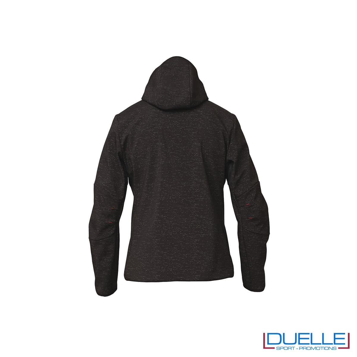 Softshell Siggi con cappuccio colore nero