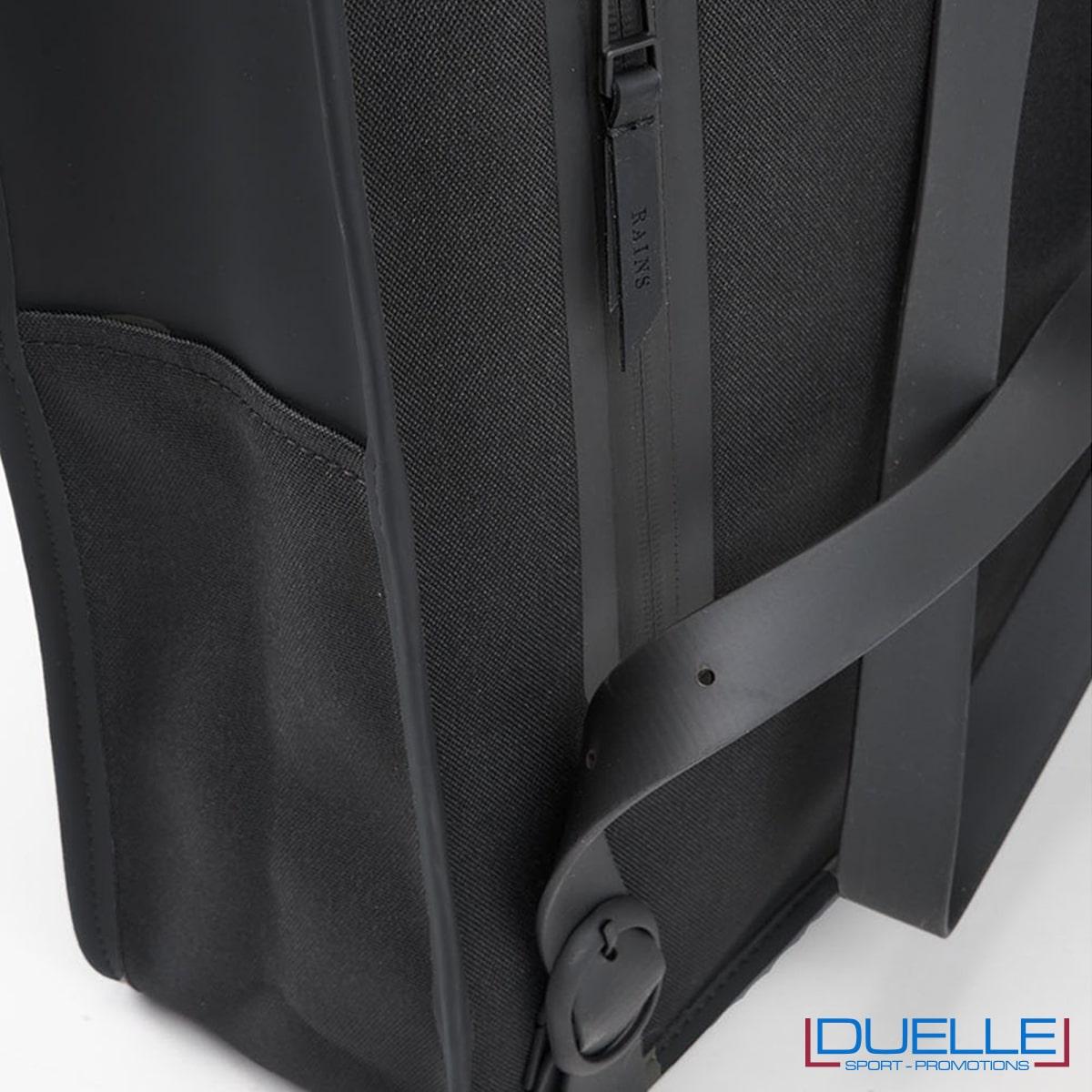 tasca esterna per telefono Mini Backpack rains colore nero