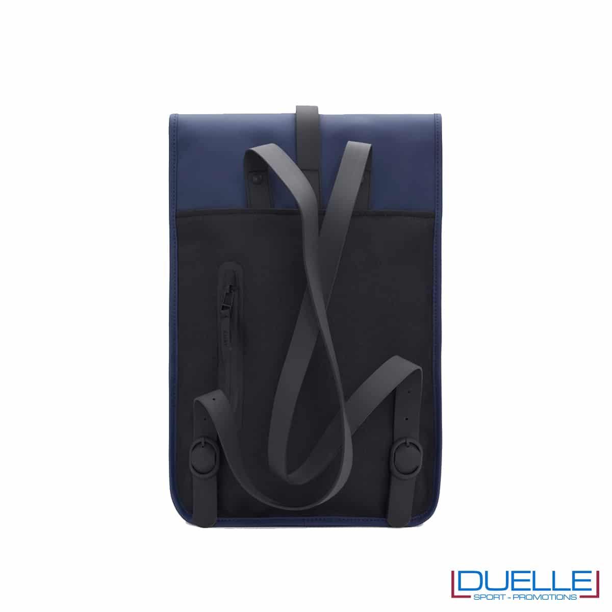 Spallacci regolabili per il Backpack mini Rains, l'originale, colore blu