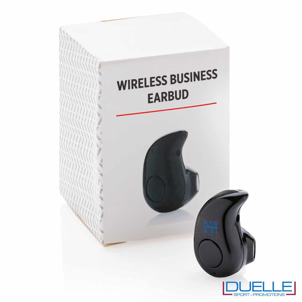 Auricolare wireless con microfono in confezione
