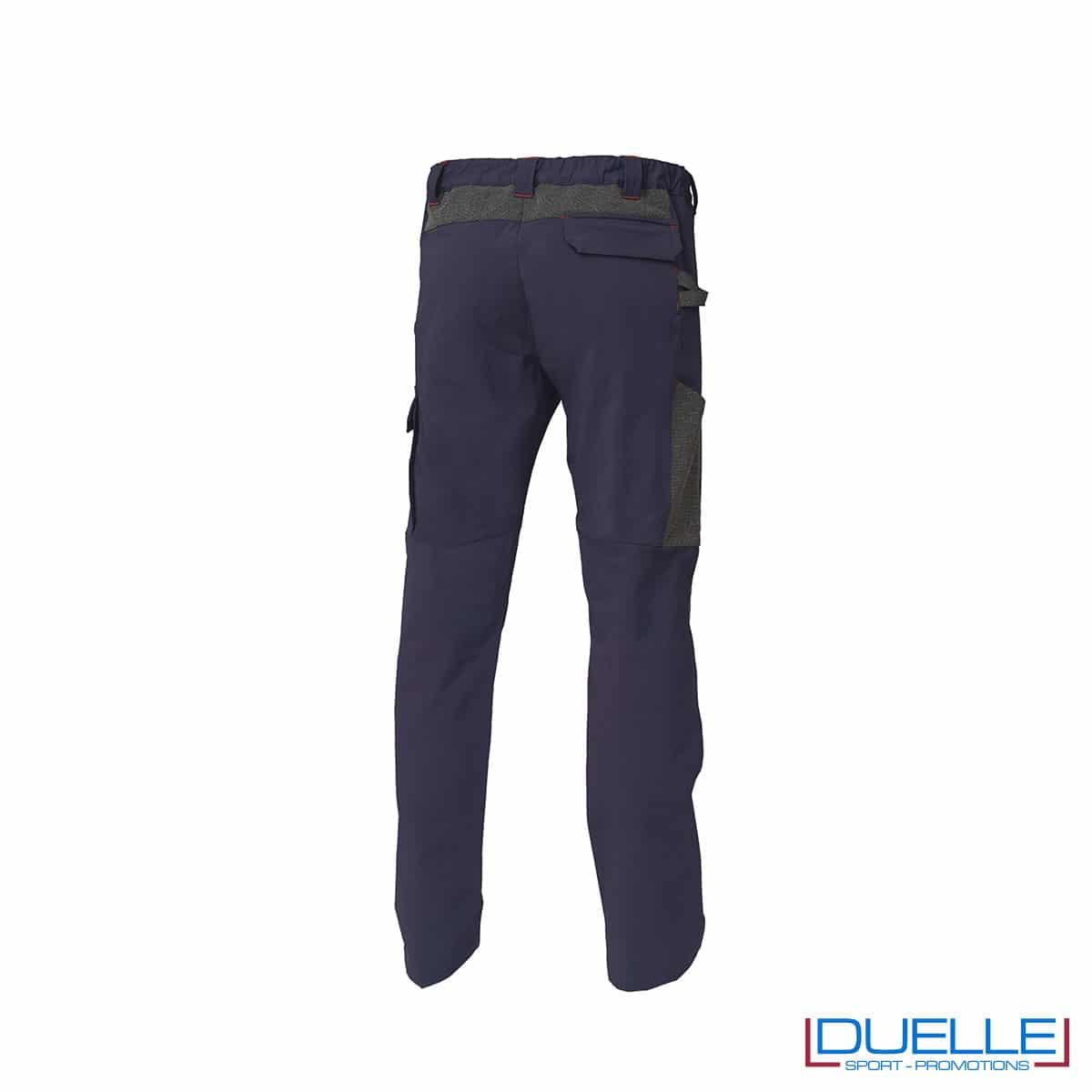 Retro Pantalone Finder Siggi colore blu personalizzato
