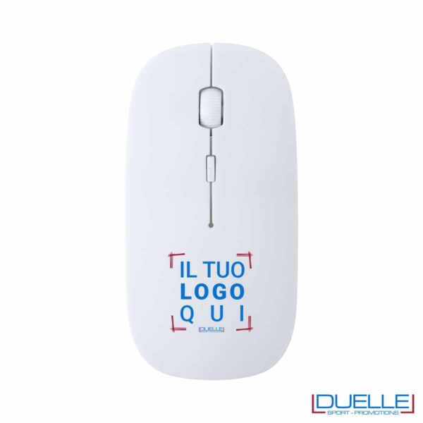 Mouse in plastica antibatterica wireless