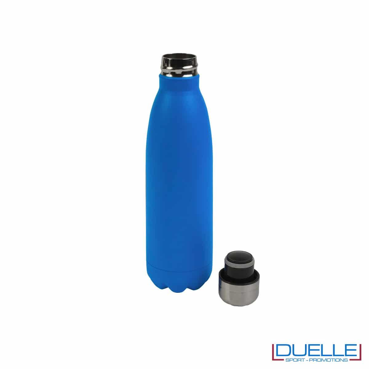 Bottiglia termica in acciaio 500 ml colore blu