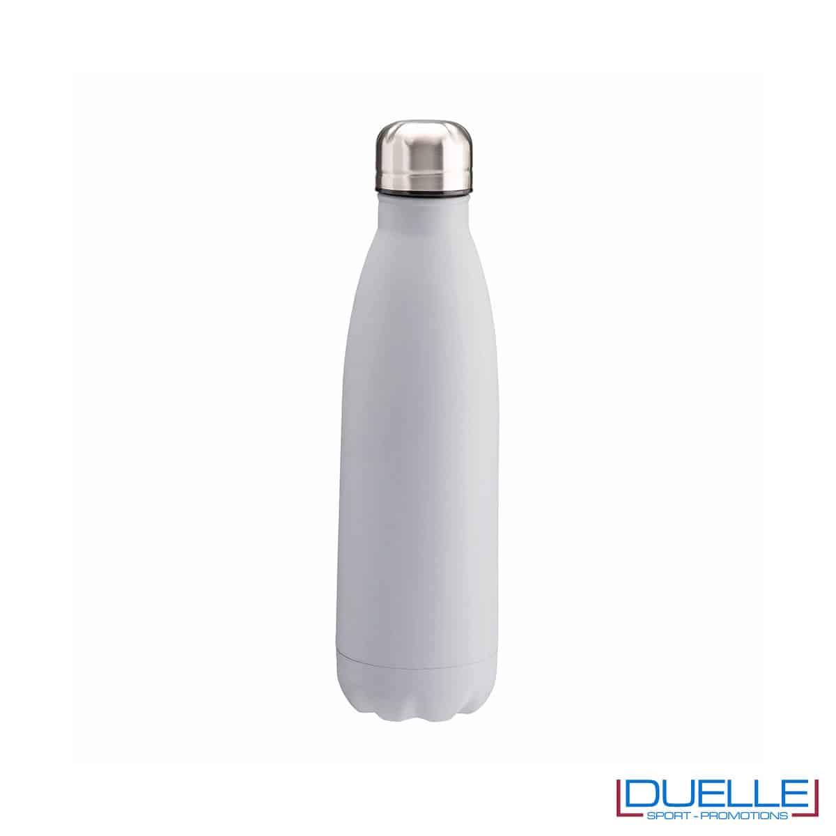 Borraccia termica in acciaio 500 ml colore grigio personalizzata