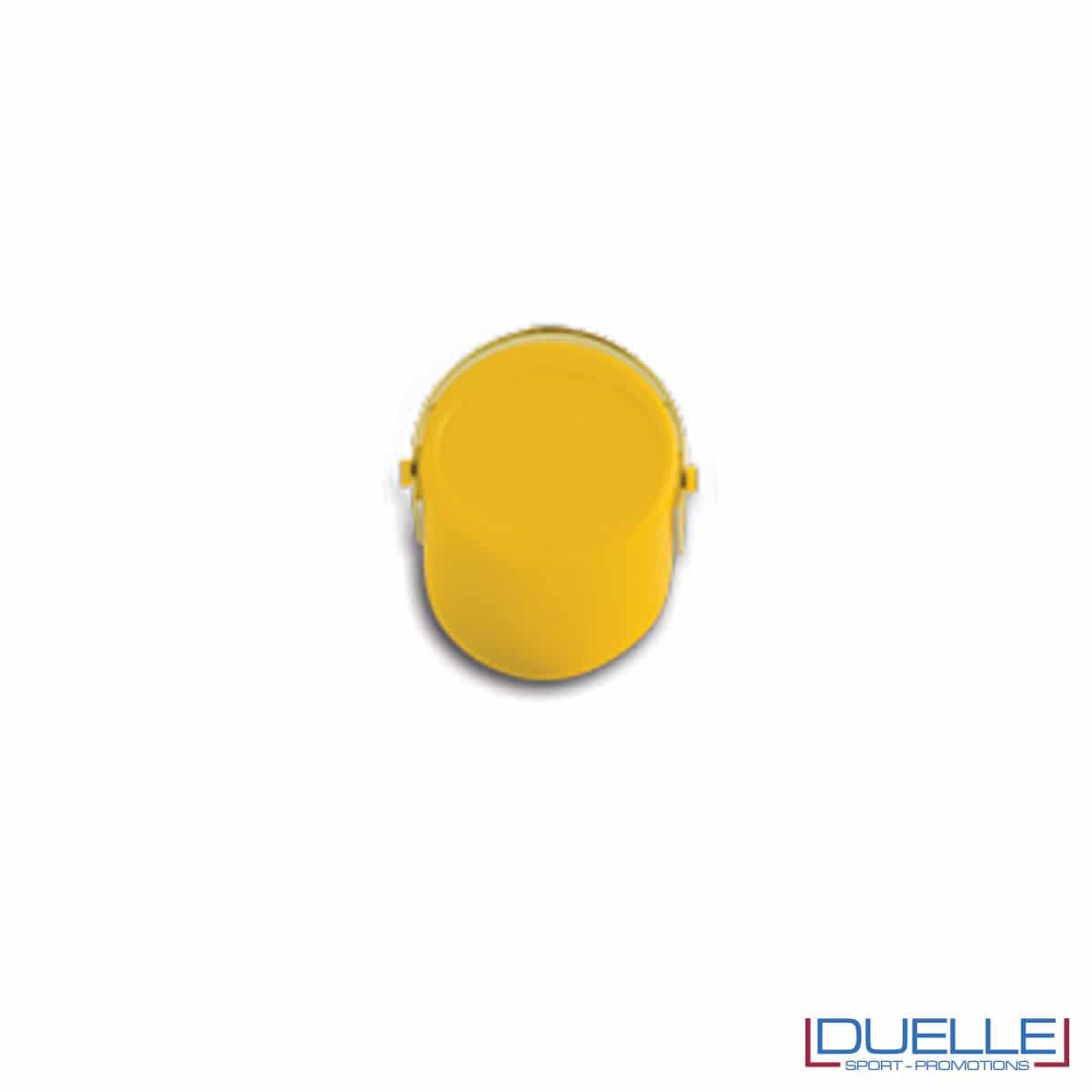 Tappi a pressione personalizzati colore giallo