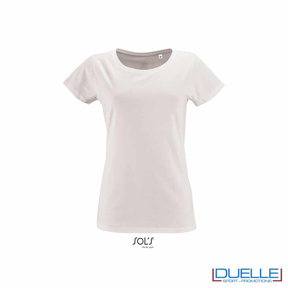 Maglia bianco donna jersey