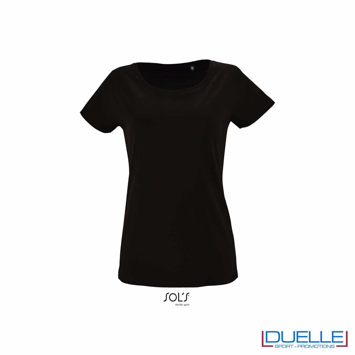 maglia donna colore nero jersey
