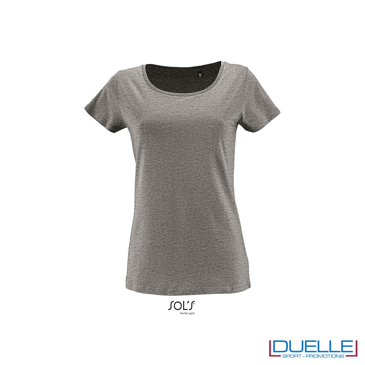 maglia grigio donna cotone