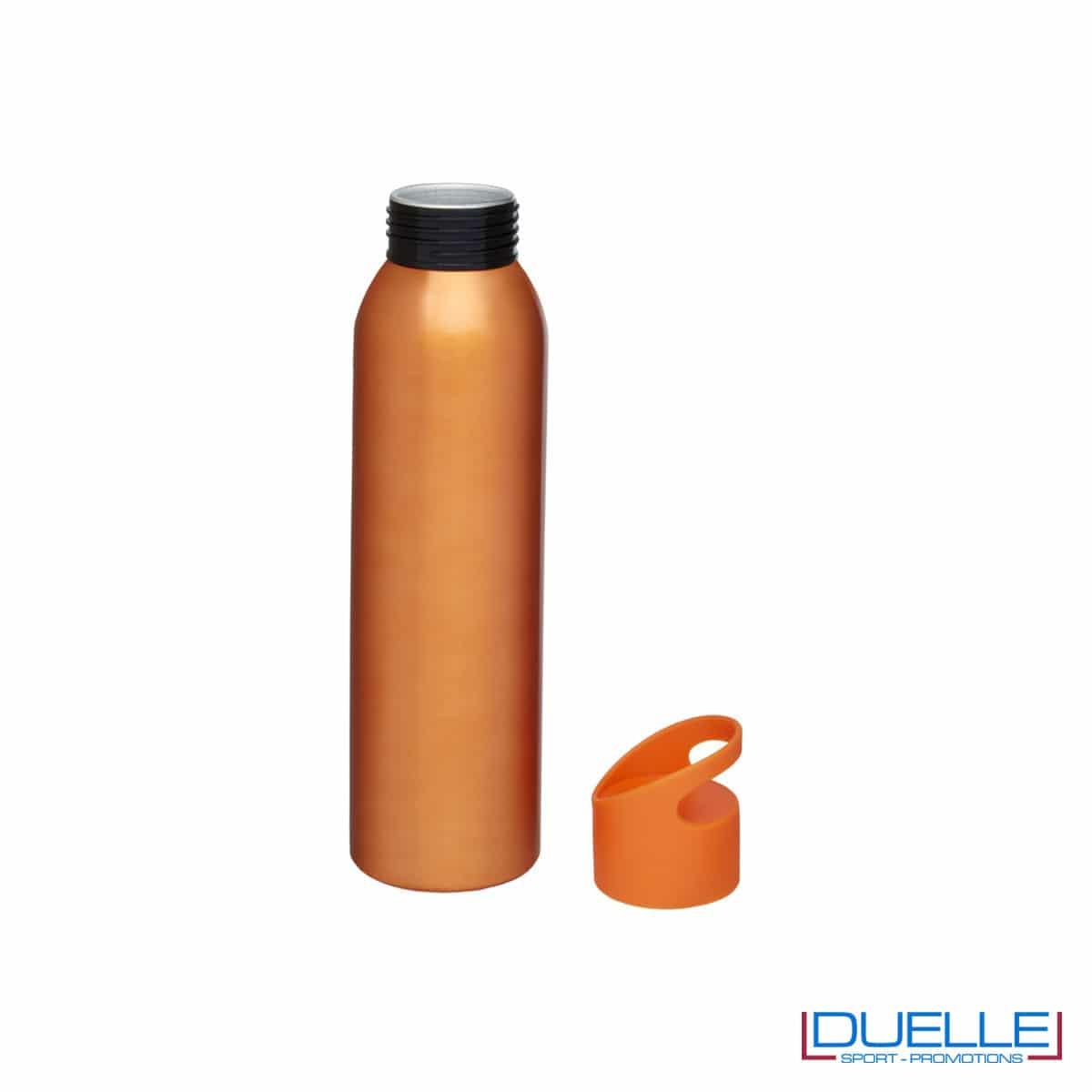 Borraccia alluminio colore arancione